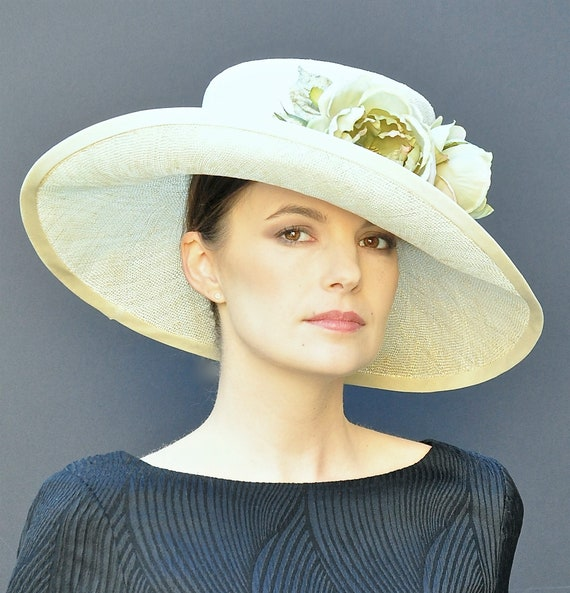 Wedding hat, Ascot hat, Formal Summer Hat, Occasion Hat, Dressy Hat