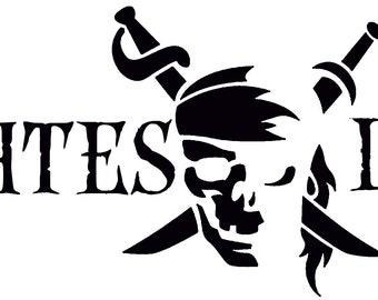 Pirates Life Vinyl Decal Sticker