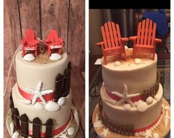 Wedding Cake Replica Wedding Cake Ornament First Christmas