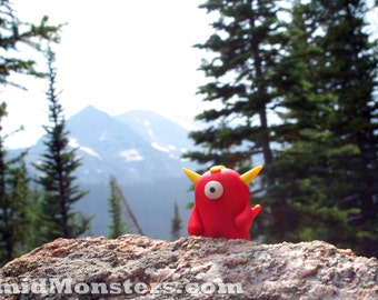 Timid Monsters in the Wild - Cobem on a Mountain- 5x7 Photography Print