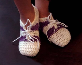 Women and Teenage Girl House Shoes, Slippers- INSTANT DOWNLOAD Crochet Pattern