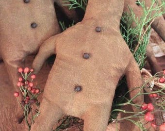 Gingerbread Man - PAPER PATTERN  by Dru Ann Jeffries - Cinnamon Creek