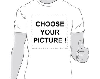 T shirt in the patterns to choose