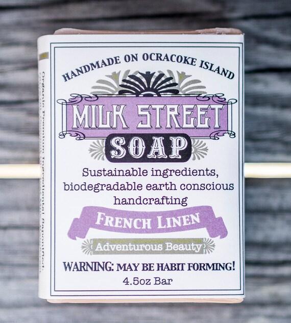 French Linen Goat Milk Soap