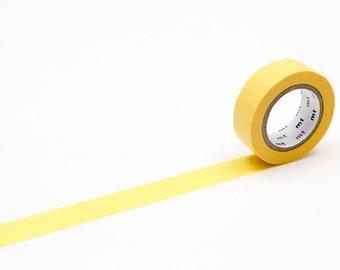 MT washi tape, egg yellow, 15 mm