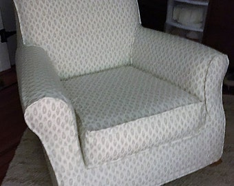 Custom Slipcovers For Your Pottery Barn Lullaby Rocker/Glider Chair From  Your Own Fabric