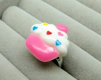 cute cupcake ring