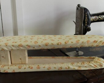 Handmade Sleeve Ironing Board with Calico Cover -Ready to Ship