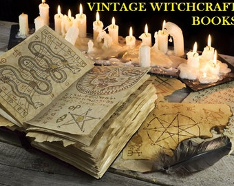 Witchcraft, Wicca, Pagan, Spells, Witches, Magic, Occult, Salem - 212 Rare Old Books