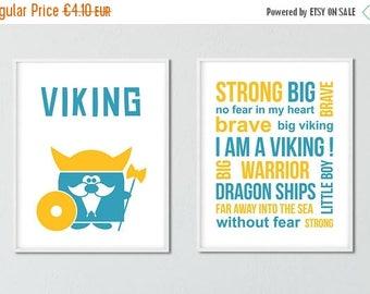 Viking Posters, Wall Art, Nursery Prints, Printable