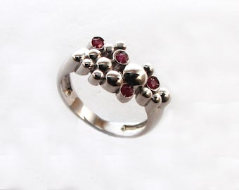 925 silver ring, JUGGLING collection