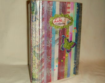 Prayer Gratitude Journal Handmade Lined Sheets & More inv1948