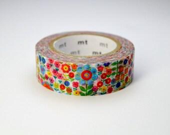 MT washi ruban adhésif de masquage - mt ex - 2015 s/s - jardin de fleurs