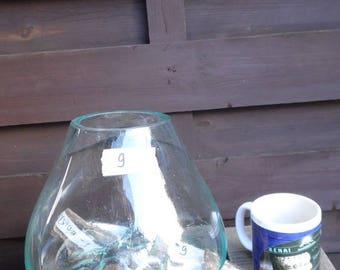 Liqva S, Dekoglas S, rootwood glass vase S, Liqvavase S gamal, root molten vase
