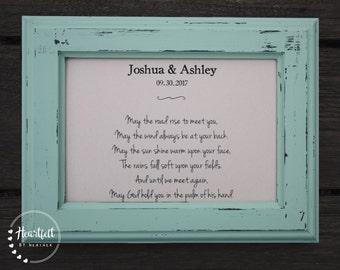 Irish wedding blessing | Etsy
