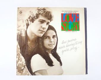 Love Story Original Soundtrack Vinyl Record (1970) Vintage LP