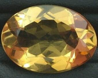 14x10 oval golden citrine gem stone gemstone natural