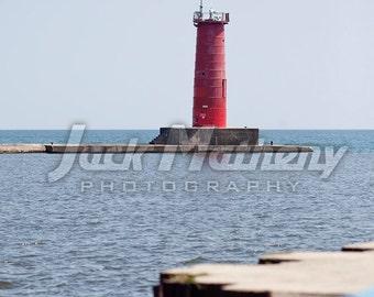 Sheboygan, Wisconsin Lighthouse Photo Digital Download
