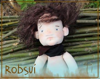 Friedrich Doll, Doll, Stoffpuppe, Waldorf Doll, Soft Toy Doll, Pocket Doll, Puppe, Waldorf Inspired Doll