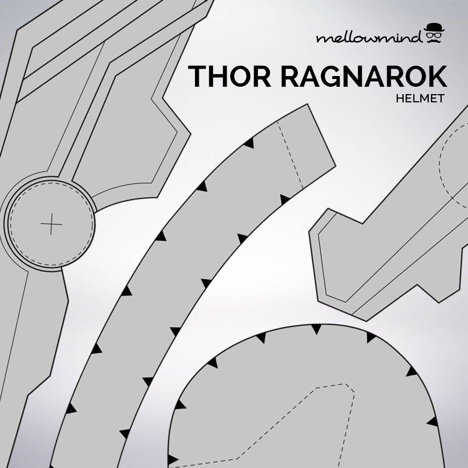pres a ply templates - thor helmet template image collections template design ideas