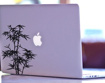 Bamboo Decal, Macbook Decals, iPhone Decals, Laptop Decals, Car Decals, Wall Decals