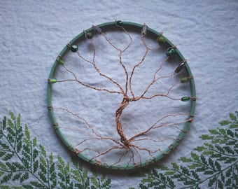 World Tree Wall Decoration/Yggdrasil Wall Ornament/Wire Tree