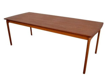 Danish Modern Teak Coffee Table By Ole Wanscher (NFNNXC)
