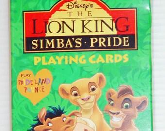 Lion King Simba's Pride Playing Cards-Disney- Large Card Deck