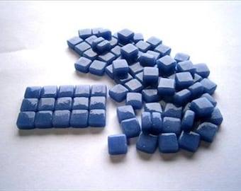 Micro Mosaic 8mm Tiles 100 pack Mosaic Heaven Micro Mosaic Tiles,Royal Sapphire Blue D2 Tesserae, Tessera.