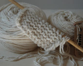 Terry laine100% cashmere ivory winter white yarn