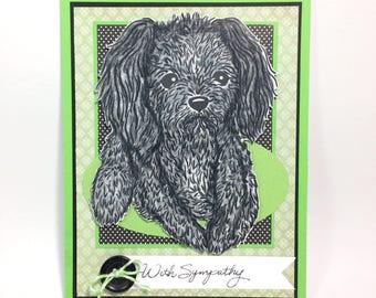 Unique Pet Remembrance Card, Pet Remembrance Card, Unique Pet Sympathy Card, Pet Remembrance, Dog Sympathy Card,