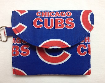 The Batter Up: Wallet Chicago Cubs Print)