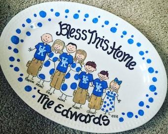 Custom Family Platter