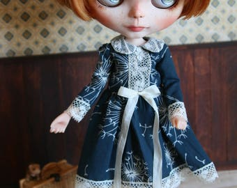Javotte dress for Blythe, pure neemo S