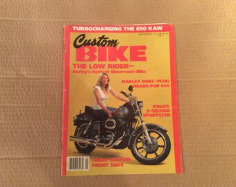 1977 September Custom Bike magazine