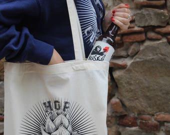HOP GUERRILLA Tote bag, Craft beer, Home Brew, beer, Hoppy beer, fabric bag