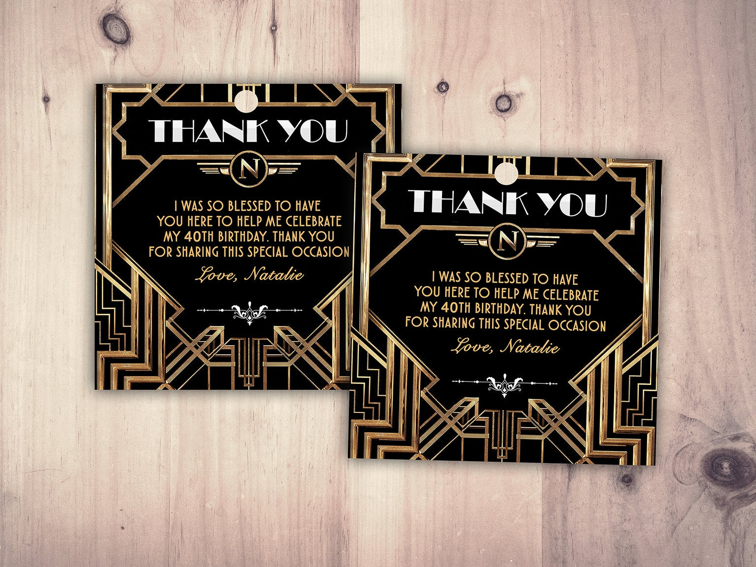 Great Gatsby birthday tag, Roaring 20\'s, Hollywood film theme party ...