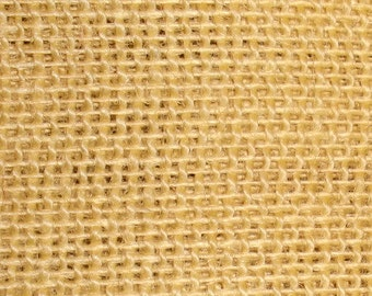 "47""- 48"" Inch Butter Colored Burlap By The Yard"