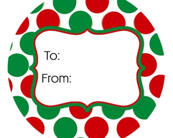 24 stickers to from stickers christmas christmas gift tags