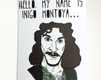 Inigo Montoya Prepare to Party Greeting Card