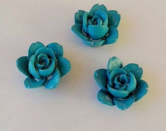 Turquoise rose wood