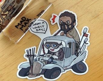 Nux car sticker(MAD MAX: fury road)