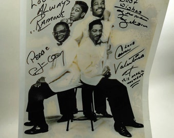 Promotional Photo Of The 1960's R&B Singers Drifters