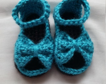 Bitty Baby Bow Sandals