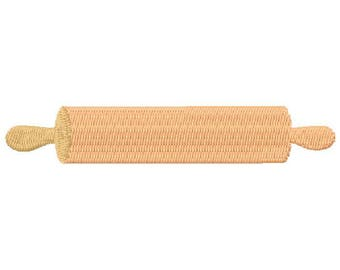 Rolling Pin Machine Embroidery Design - Instant Download