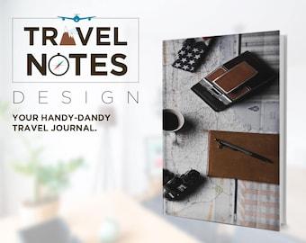 Travel Essentials Notebook  II  Travel Journal