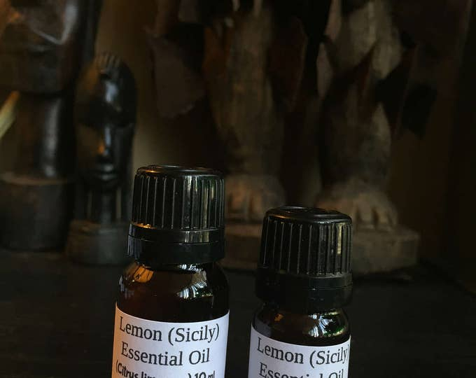 Lemon Essential Oil, Sicily Lemon Essential Oil, Citrus limon (L.) Burm.F., Pure Lemon Essential Oil, Aromatherapy,  Kosher Certified,