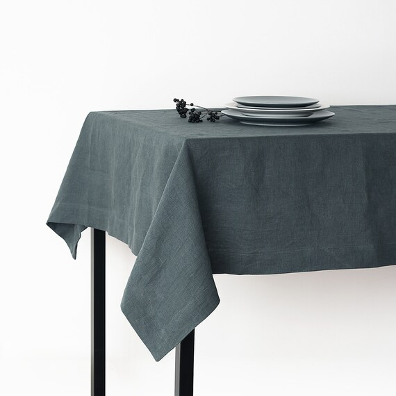 leinen tischdecke grau stunning tischdecke leinen design x tischdecke leinen grau with leinen. Black Bedroom Furniture Sets. Home Design Ideas