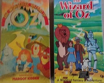 Vintage VCR Oz story tapes: unopened