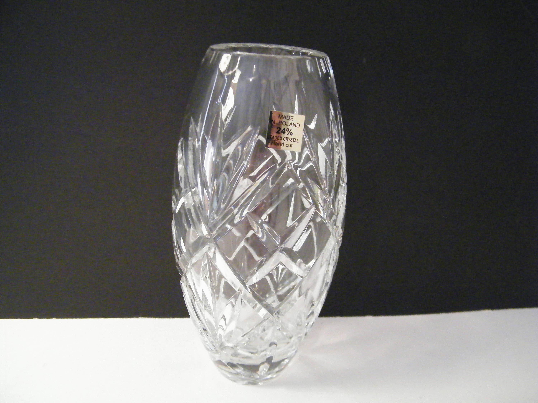 Polish hand cut lead crystal vase made in poland vintage zoom reviewsmspy
